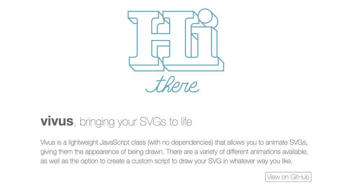 如何使用vivus.js製作輕量快速svg動畫